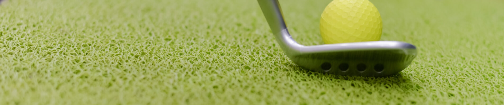 Césped artificial para campos de golf