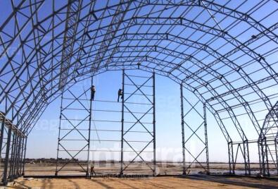 Aplicación de estructura de acero