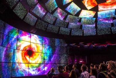 Aplicación de Echran LED para Centro de espectáculos