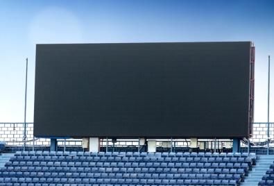 Aplicación de Echran LED para Estadio Bilboard