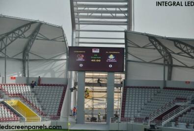 Aplicación de Echran LED para Estadio