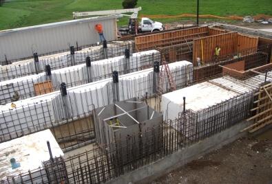 Aplicación de muros de contención Geobera