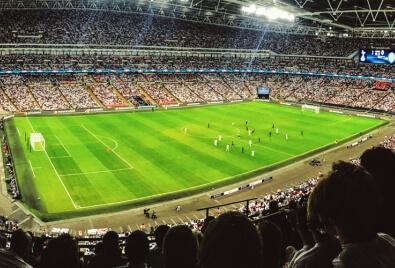 Aplicación de la tribuna del estadio