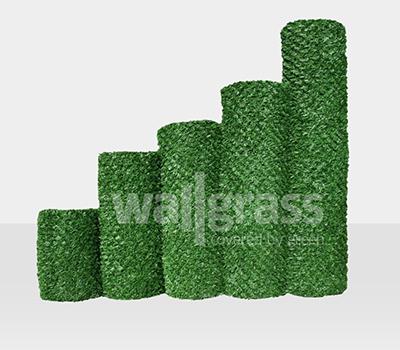 Valla de Césped Verde